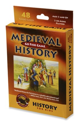 Medieval History Go Fish Game   -