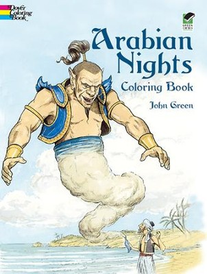 Arabian Nights Coloring Book  -     By: John Green