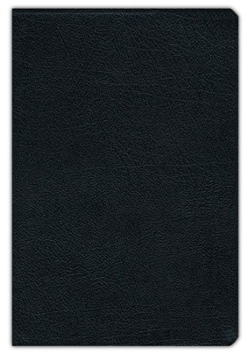 NIV Largeprint, Thinline, Reference Bible, Black (Red Letter)  -