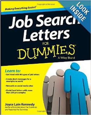 Job Search Letters For Dummies  -     By: Joyce Lain Kennedy