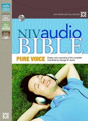 NIV Pure Voice Audio Bible on CD   -     Narrated By: George Sarris     By: Narrated by George W. Sarris