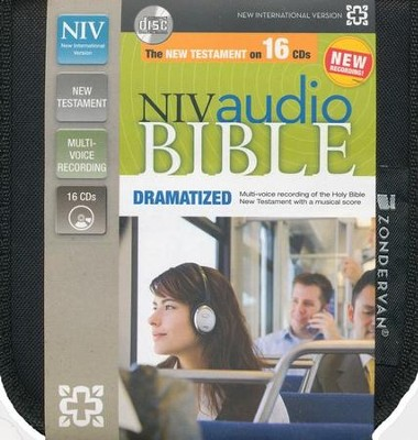 NIV New Testament Audio Bible, Dramatized, Audio CD, Unabridged  -
