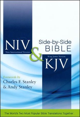 NIV and KJV Side-by-Side Bible, Hardcover  -