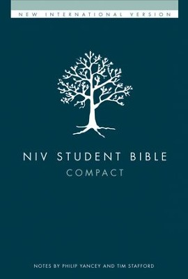 NIV Student Bible, Compact, Hardcover  - Slightly Imperfect  -