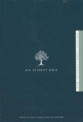 NIV Student Bible, Hardcover  - Slightly Imperfect  -