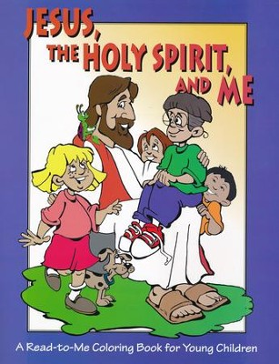 Jesus, The Holy Spirit, and Me: A Read-to-Me Coloring book for Children  -     By: Gospel Publishing House