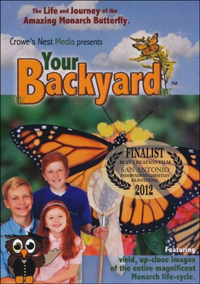 Your Backyard Monarch DVD   -