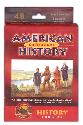 American History Go Fish Game   -