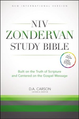 NIV Zondervan Study Bible, hardcover  -     Edited By: D.A. Carson