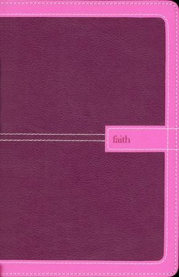 NIV Thinline Bible, Orchid/Grape Duo-Tone   -