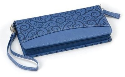 NIV Clutch Bible Blueberry Leather-look   -
