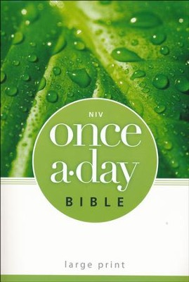 NIV Once-A-Day Bible, Large Print  -