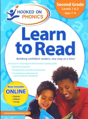 Hooked on Phonics: Learn to Read Second Grade Complete   -