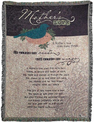 Mothers Love Throw  -