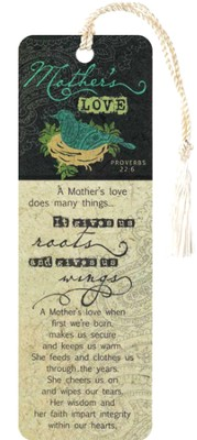 Mothers Love Bookmark  -