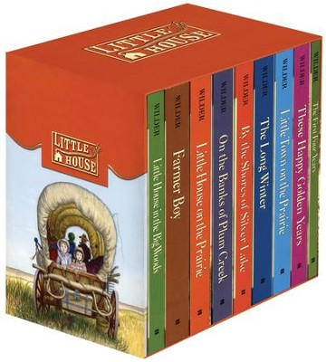 Little House on the Prairie, 9 Vols., slipcased   -     By: Laura Ingalls Wilder