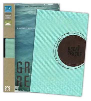 The Great Rescue (NIV): Discover Your Part in God's Plan: Revised Edition, Italian Duo-Tone, Light Blue and Brown  -