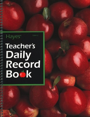 Teacher's Daily Record Book   -