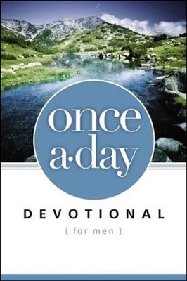 Once-A-Day Devotional for Men  -