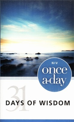 NIV Once-A-Day: 31 Days of Wisdom   -