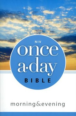 NIV Once-A-Day Morning and Evening Bible  -     By: Kenneth D. Boa