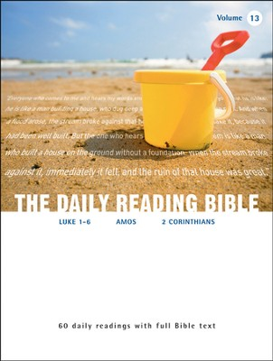 The Daily Reading Bible (Volume #13)  -