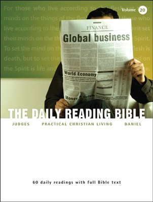 The Daily Reading Bible (Volume #20)  -