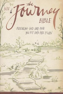 NIV The Journey Bible: Revealing God and How You Fit into His Plan, Black  -