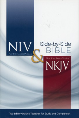 NIV and NKJV Side-by-Side Bible: Two Bible Versions Together for Study and Comparison - Slightly Imperfect  -