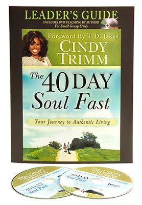 40 Day Soul Fast Leader's Guide Set: Book with DVD  -     By: Cindy Trimm