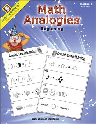 Math Analogies Beginning   -     By: Linda Brumbaugh, Doug Brumbaugh