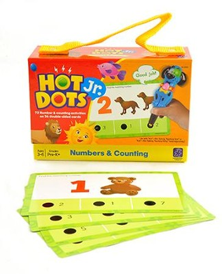 Hot Dots Jr. Cards: Numbers & Counting   -