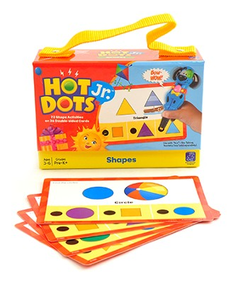 Hot Dots Jr. Cards: Shapes   -