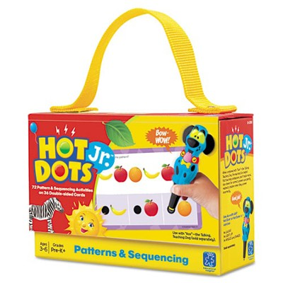 Hot Dots Jr. Cards: Patterns & Sequencing   -