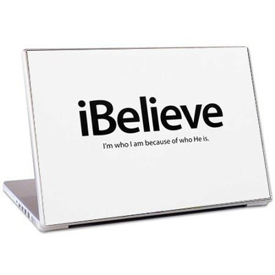 iBelieve Laptop Skin  -