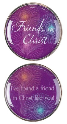 Friends in Christ Pocket Stone  -
