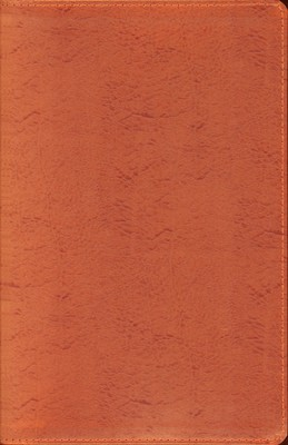 NIV Thinline Metallic Collection Bible, Bonded Leather, Copper  -