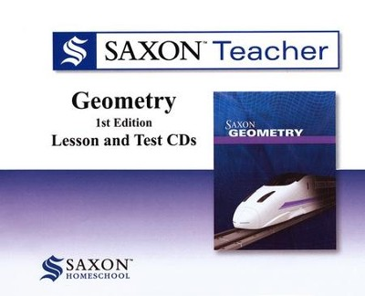 Saxon Teacher for Geometry, First Edition on CD-ROM   -