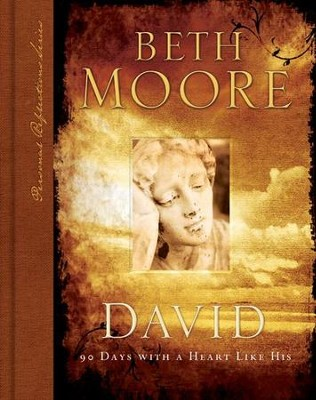David: 90 Days with a Heart Like His--Book    -     By: Beth Moore