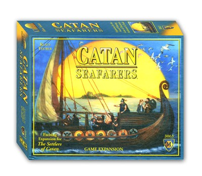 Catan: Seafarers Game Expansion (4th Edition)   -