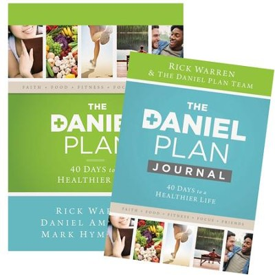 The Daniel Plan, Book and Journal   -     By: Rick Warren D.Min., Daniel Amen M.D., Mark Hyman M.D.
