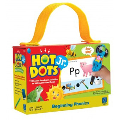 Hot Dots Jr. Cards: Beginning Phonics   -