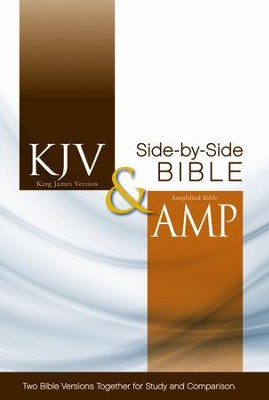 KJV & Amplified Side-by-Side Bible   -