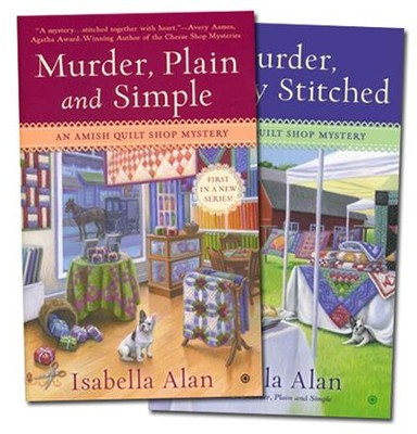 Amish Quilt Shop Mystery Series, Volumes 1 & 2  -