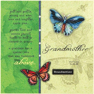 Grandmother, Soft and Gentle Plaque  -     By: Tammy Apple