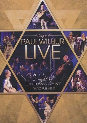 Live: A Night of Extravagant Worship DVD   -     By: Paul Wilbur