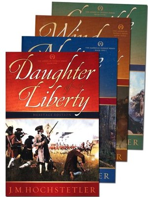 American Patriot Series, Volumes 1-4  -     By: J.M. Hochstetler