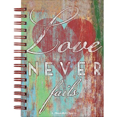 Love Never Fails Journal  -