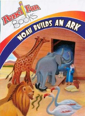 Noah Builds an Ark: Pencil Fun Book, 10 pack  -