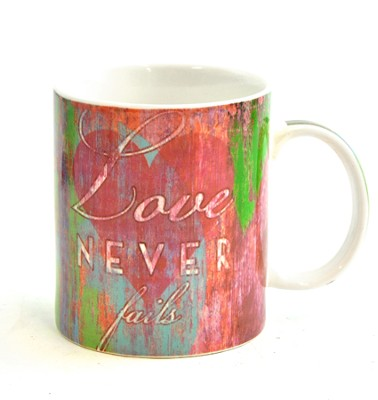 Love Never Fails Mug  -